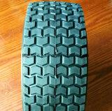 neumáticos libres planos de la espuma de la PU 13X5.00-6 con la pisada redonda del césped