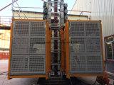 Employé couramment pour le matériau et l'ascenseur industriel de construction de Passangers