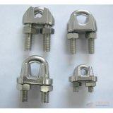 Clips galvanisés ou galvanisés à chaud d'électro de câble métallique