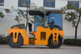 China 6 Tonnen-mechanische doppelte Trommel-Vibrationsstraßen-Rolle (YZC6)