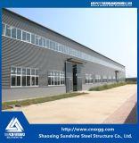 Gute Qualitätsgalvanisierter Stahlrahmen für Stahlkonstruktion-Werkstatt