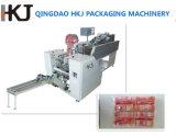 Máquina de empacotamento do macarronete de três pesadores