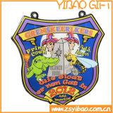 Изготовленный на заказ золотая медаль эмали для подарков собрания (YB-MD-43)