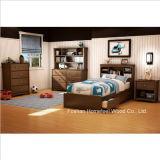Niños gemelo Mates cama Conjunto de 3 piezas Dormitorio (HF-HH30)