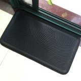 Home Decor Molded Press Gravado Pattern Rubber Shoe Boot Tray