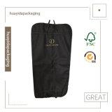 Sacchetti antipolvere personalizzati del vestito del coperchio dell'indumento dei vestiti di qualità di stampa