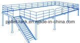 Almacén personalizadas de rejilla de acero con plataforma de acero