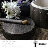 Hongdao習慣によって焼き付けられるカラー木のコーヒーまたは茶バレルWholesale_F