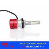 Csp LEDのLEDの照明60W 8400lm V5車LEDのヘッドライトの球根はH11 H4 H1 H3 H7 9005を9006台の自動車LEDのヘッドライト欠く