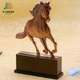 Tazza Bronze antica del trofeo del metallo del cavallo di abitudine 3D di alta qualità (JIABO-JB1068)