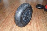 手押し車のトロリーカートの車輪の空気のゴム製車輪4.00-8