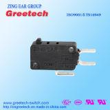 Interruptor impermeável elétrico do aparelho electrodoméstico micro com UL