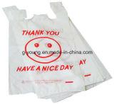 Sacchetto di acquisto di plastica del pacchetto per i vestiti con la maniglia