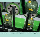 PVCおよびベニヤの薄板になる機械を包む木工業の木製のプロフィール