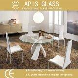 scrittorio di 6mm/8mm/10mm/12mm/caffè del tè che pranza il vetro Tempered del coperchio dei piani d'appoggio della mobilia