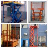 La piattaforma verticale ampiamente usata dell'elevatore Scissor la strumentazione del garage della Tabella di elevatore