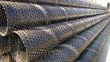 Carcasa perforada de acero al carbono tubo/tubo carcasa de pantalla perforada