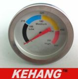 Termometro della griglia del forno del BBQ della manopola