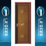 木カラーアルミニウム内部の浴室のドア