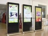 En la pared de la Publicidad Digital Pantalla LCD de pantalla táctil quiosco