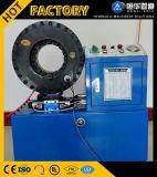 De hydraulische Plooiende Machine van de Slang van de Kabel van de Pijp in China voor Verkoop