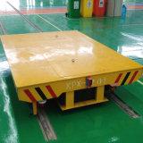 Het hydraulische Opheffende Karretje van Transportaion van de Staalfabriek op Sporen