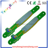 3D da Pulseira de borracha de PVC personalizado para itens promocionais