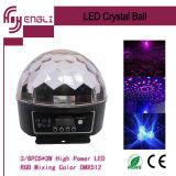 30W LED 수정같은 마술 공 무대 효과 빛 (HL-056)