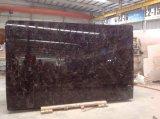 Chinees Donker Emprador Opgepoetst Marmer voor Bevloering en de Bekleding van de Muur