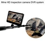 6 Lámparas 1080P 64 GB de memoria digital Telescópica Pole cámara de inspección de vídeo con HD DVR
