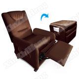 Silla de la esquina de la sala de estar plegable/sofá de cuero plegable del Recliner