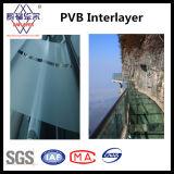0.38mm/0.76mm/1.14mm/1.52mm de Duidelijke PVB Film van de Tussenlaag PVB voor Gelamineerd Glas met Ce, ISO, SGS
