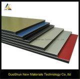 El panel de pared de aluminio material de la decoración colorida de la capa