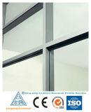 Parte superior da parede lateral de qualidade aplicado o perfil de alumínio