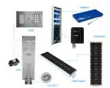 Hohes Lumen 30W integrierte alle in einem LED-Solarstraßenlaternemit MonoSonnenkollektoren