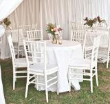 Белое Resin Тиффани Chair для Wedding