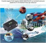 Inseguitore di GPS del veicolo dell'automobile con durata di vita della batteria lunga Tk104