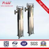 1ミクロン単一袋のステンレス鋼の海水フィルターシステム