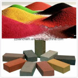 El óxido de hierro negro rojo verde amarillo para la construcción de pavimento de hormigón
