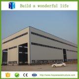 Prefabricated 온화한 가벼운 강철 구조물 항공기 걸이 헛간 창고 건물