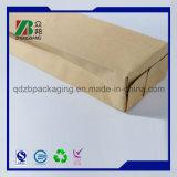 Selo Satnd do quadrilátero acima do saco do papel de embalagem Com impressão feita sob encomenda