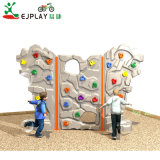 China Fornecedor Kids Outdoor escalador de plástico para venda