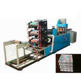 full-automatic plegables impresión máquina servilleta de papel multi-colores