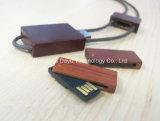 Daumenlaufwerk USB-grelle Karten-grelle Platte USB-Daumen-Laufwerk-codierte Karte USB-Blitz USB-Blitzlaufwerk Miniholz Soem-Firmenzeichen USB-Stock USB-Pendrives