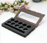 Fabrik-Großverkauf-umweltfreundlicher Kippen-Typ Augenschminke-verpackenkasten mit Fenster, Drucken-Deckel-Augenschminke-Kasten