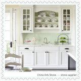 Countertop Китая Carrara белый мраморный для кухни и ванной комнаты