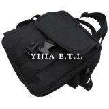 Черный мешок посыльного цвета с рукояткой для переноски для дела