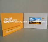 4.3inch LCD Screen Video Brochure für Business Gifts