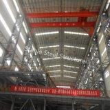 높은 고도를 가진 Prefabricated 가벼운 강철 구조물 건물