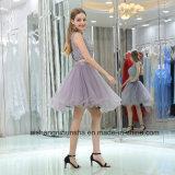 Zweiteilige Heimkehr kleidet A - Zeile Brautsequin-Spitze-Abschlussball-Kleid